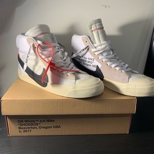 Nike x Off white Blazer Mid The Ten